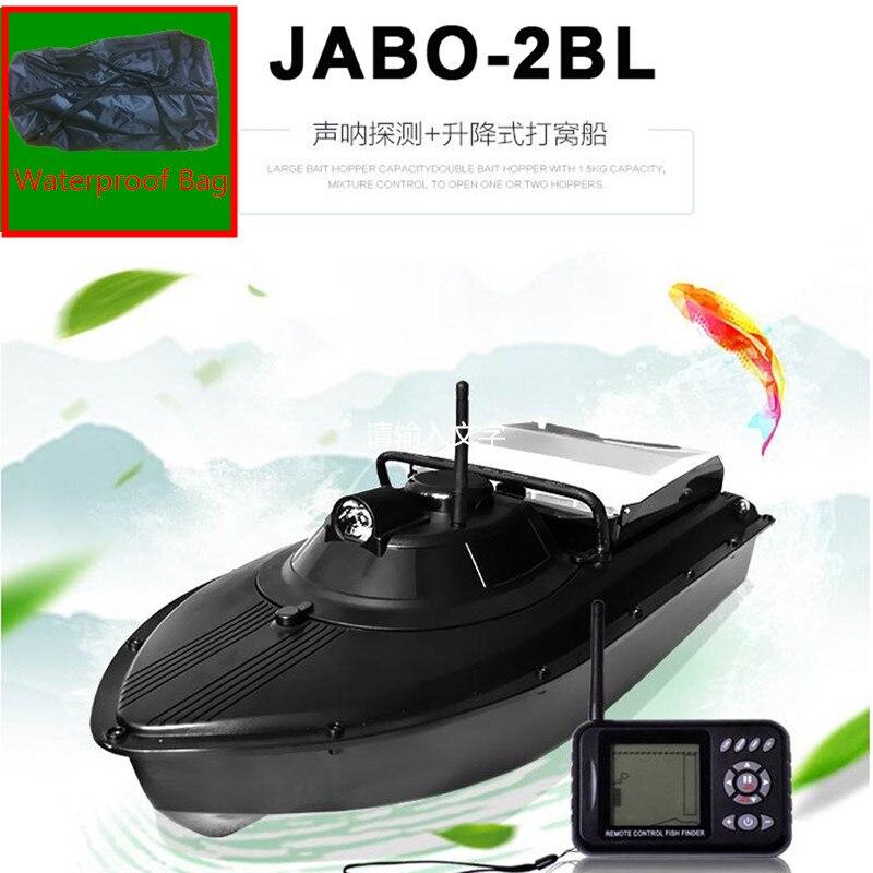Intelligente RC Bateau de pêche JABO-2BL JABO 2BL détecteur de poissons Bateau bateau d'appâtage VS Jabo 5A 5CG RC Bateau jouets de pêche battant