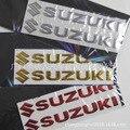 Motocicleta Automóvil decorativo applique suave 3D tridimensional señal para Suzuki personalidad coche pegatinas reflectantes