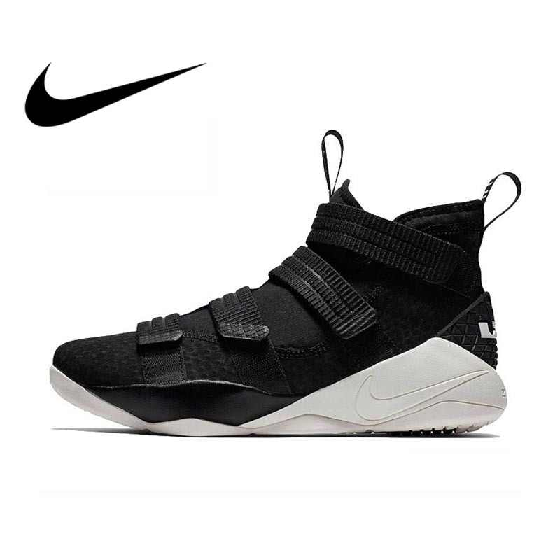 044256389bb Original Authentic Nike LEBRON SOLDIER 11mens Basketball Shoes Sneakers  Medium Cut Sports outdoor Comfortable Breathable 897645