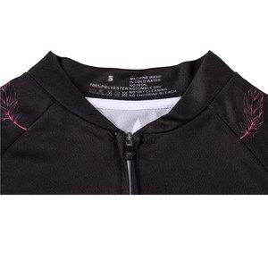 Image 3 - Vrouwen Wielertrui Mtb Fiets Kleren Vrouwelijke Ciclismo Lange Mouwen Racefiets Kleding Riding Shirt Team Jersey Custom Design