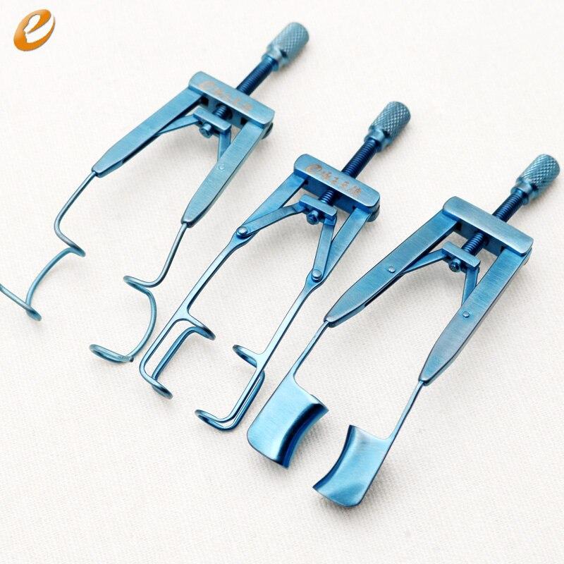 Blepharostat titanium alloy Cosmetic surgery instrument eye instrument