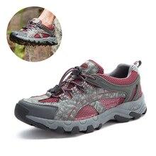 Men&Women Aqua Shoes Outdoor Hiking Shoes Beach Water Shoes Upstream Boots Non-Slip Lightweight Quick Dry Waterproof Shoes