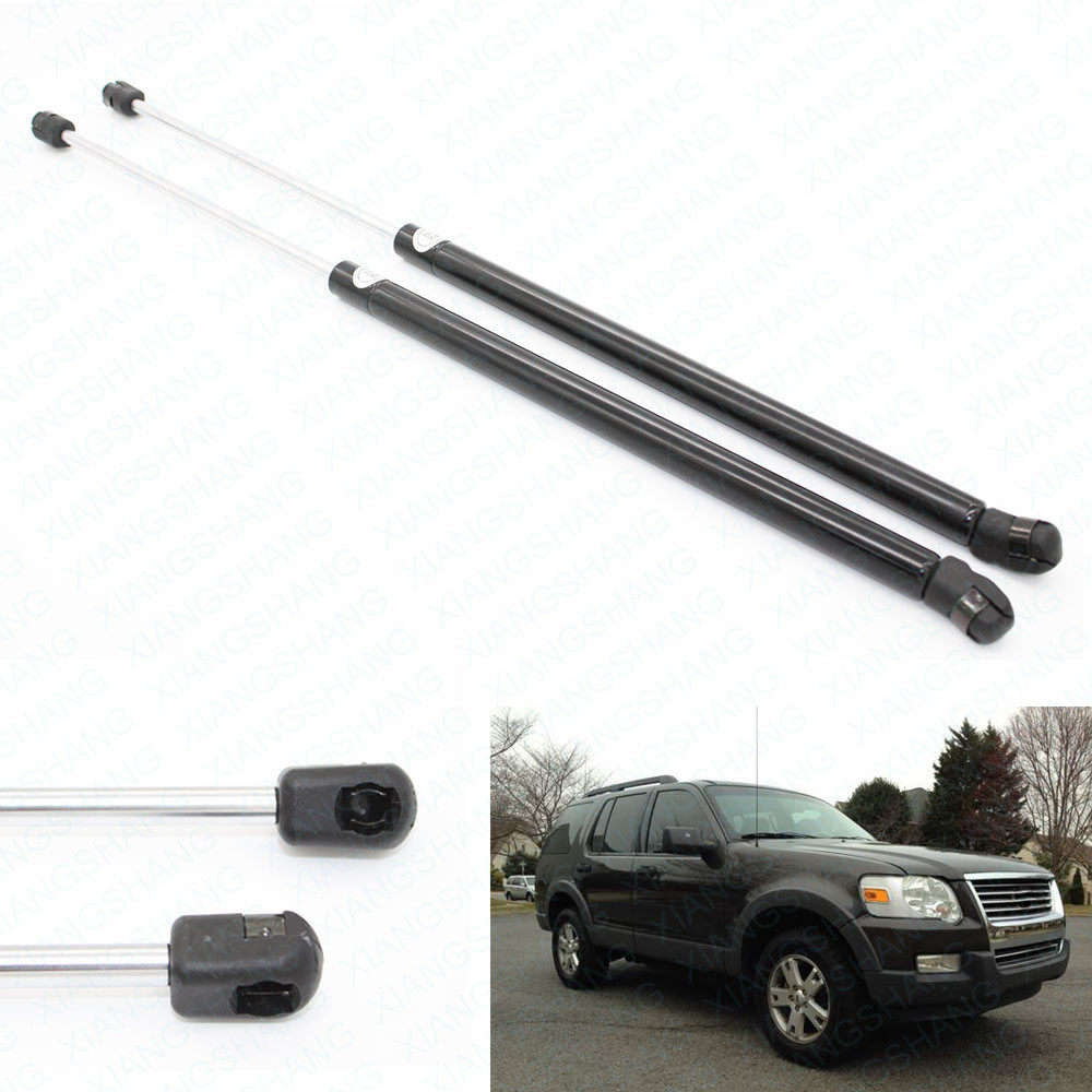 1Pair Auto Rear Window Lift Supports Shocks Struts Fits for Ford Explorer Sport Utility 2006 2007 2008 2009 2010 19.25 inch