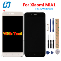 Hacrin For Xiaomi MiA1 Mi A1 LCD Display Touch Screen High Quality 100 New Digitizer Screen