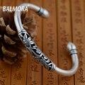 100% Реальные 990 Серебряные Ювелирные Изделия Ретро Цветок Браслеты Браслеты для Женщин Любовник Годовщины Рождественский Подарок Бесплатная Доставка SY50123-Y