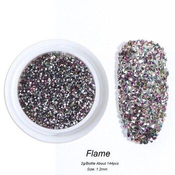 Διακόσμηση νυχιών  crystal zircon glitter mini