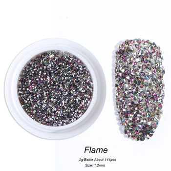 Διακόσμηση νυχιών Crystal Zircon Glitter Mini Μανικιούρ - Πεντικιούρ Προϊόντα Περιποίησης MSOW