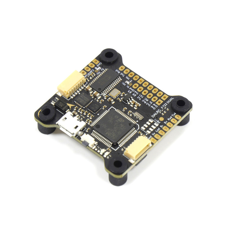 DALRC F722 DUAL STM32F722RGT6 F7 Flight Controller MPU6000 & ICM20602 Built-in OSD for RC Drone FPV Racing DIY Part Accessories f722 f7 v1 upgrade version f4 flight control with osd barometer