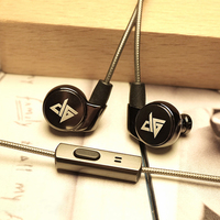 Original AUGLAMOUR R1S High Quality 3 5mm Metal In Ear HIFI Music Earphones Ear Hook HIFI
