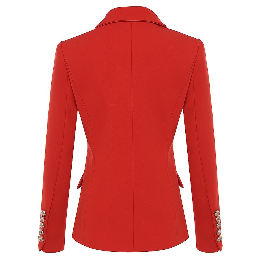 Winter Baroque Designer Blazer Women's Metal Lion Blazer Jacket  1