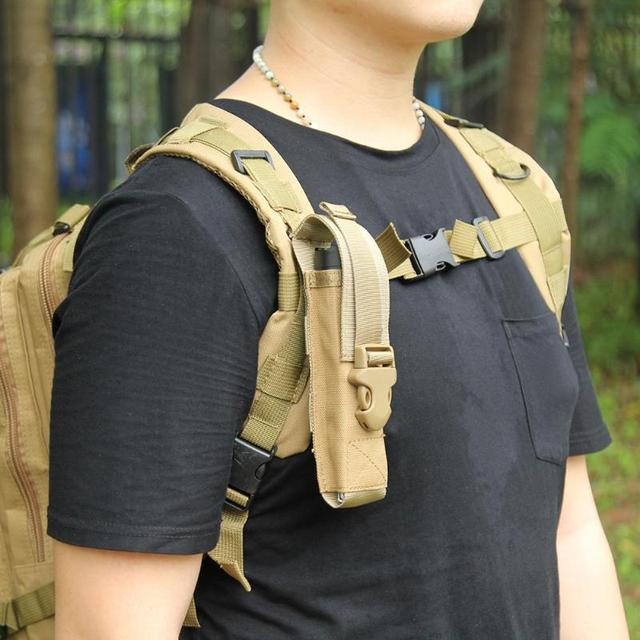 40pcs Tactical Shoulder Strap Sundries Bags For Backpack Accessory Unique Outdoor Magazine Holder