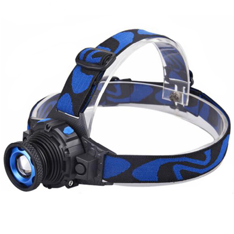 Cree Q5 LED 3000LM Led Headlamp Headlight Frontal Flashlight Rechargeable Linterna Torch Head lamp Build-In Battery+Charger