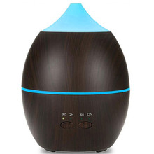 air humidifier ultrasonic 300ml aroma Essential Oil diffuser 7 Color Changing LED Lights Aromatherapy machine with Wood Grain 300ml colorful led timing ultrasonic wood grain base aromatherapy machine air humidifier aerosol dispenser diffuser 2 colors