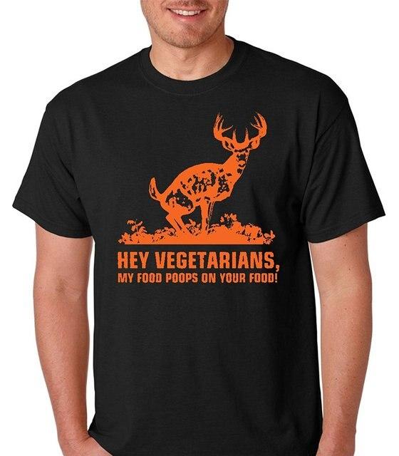 """""""Hei vegaani, minun ruokani kakkaa sinun ruokaasi """"- T-paita"""