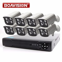 BOAVISION 8Ch AHD DVR Security Camera System CCTV 1080P Surveillance Kit 8 Channel AHD DVR KIT