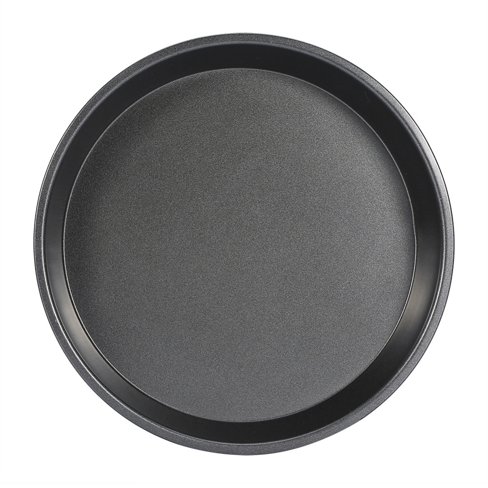 8 Inch Carbon Steel Non Stick Round Pizza Pan Microwave