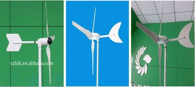 mini small portable 100w wind generator turbine for home lighting or camping for street lamps