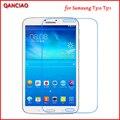 Для Samsung Tab 3 8.0 0.3 мм Закаленное Стекло T310 T311 T315 8 Дюймов Таблетки 9 h Жесткий Анти-раздавить Anit-отпечатков пальцев С Чистые Инструменты