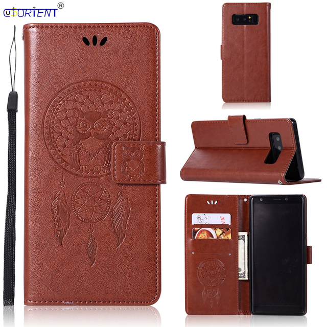 US $4 54 5% OFF|For Samsung Galaxy Note 8 N950 Flip Wallet Case SM N950F  N950FD N9500 N950A N950H N950P N950U N950U N950F/DS Note8 Card Slot Bag-in