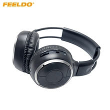 FEELDO 1PC Car DVD Stereo 2 Dual Channel Audio IR Infrared Wireless Music Foldable Earphone Headphone #AM2447