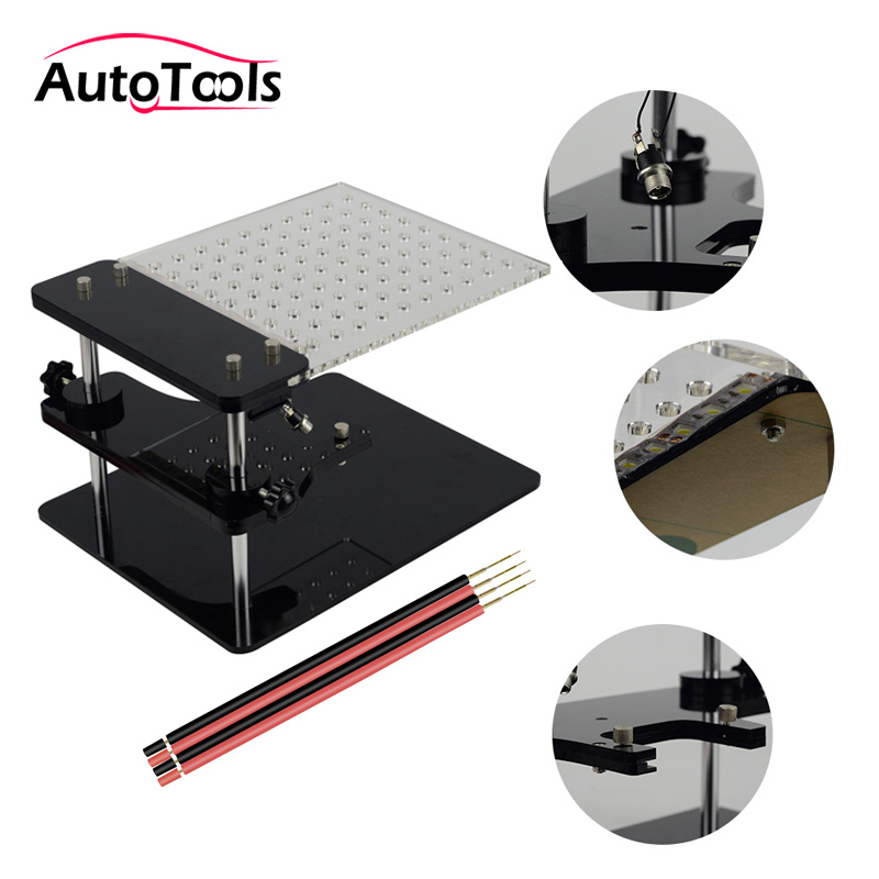 New BDM Frame Tester For KESS V2/KTAG/BDM 100/v54 ECU Chip Tunning BDM Frame Adatper Car Accessories Via Free Shipping