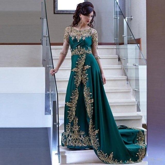 7abb103062c Pakistan Evening Dresses Illusion Appliques Beaded African Prom Dress Long  Vestidos De Festa Formal dressZHP997