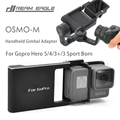 New Arrival Gopro Hero 5/4/3+/3 Sport Camera Accessories Adapter Switch Mount Plate for OSMO Mobile Handheld Gimbal