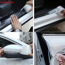Car Door Edge Guards Anti-collision Door Strip Bumper Protector For BMW F30 F10 F25 X5 F15 X6 F16 G30  F25 F45 G11 G12 все цены