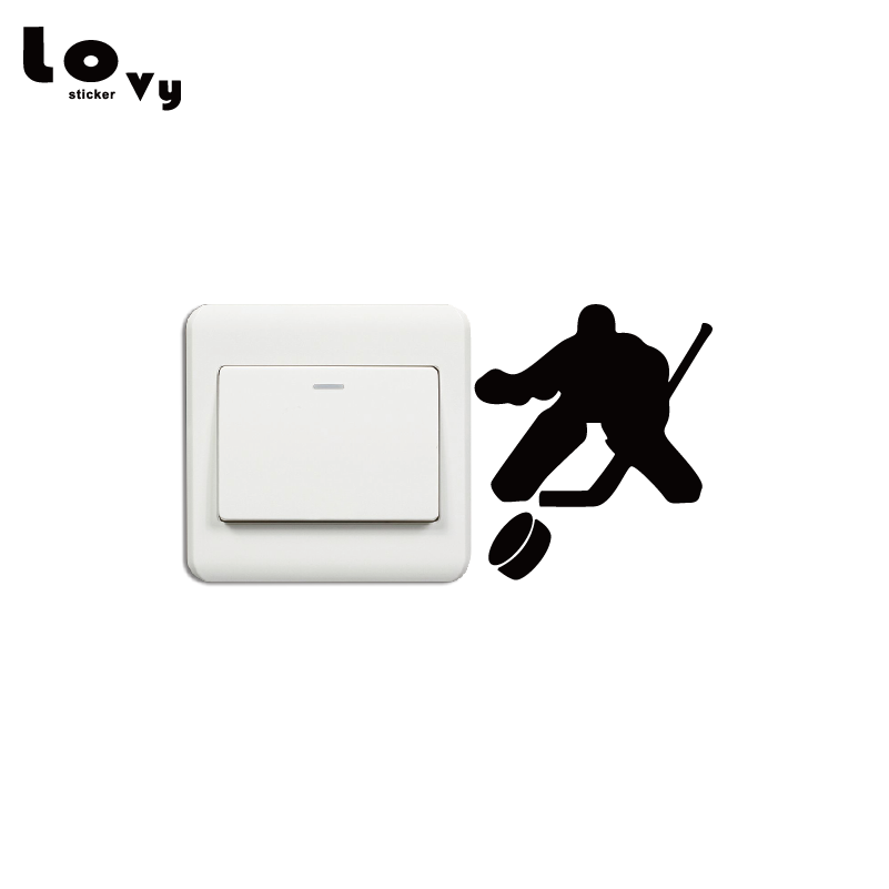 Detail Feedback Questions About Fashion Hockey Goalie Light Switch