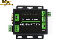 Industrial RS232/RS485 to Ethernet Converter Dual Serial Ports High speed Upgradable Cortex M4 Processor 5~36V