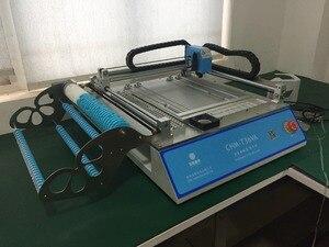 Image 2 - SMT خط الإنتاج: CHM T36VA الرؤية ماكينة استبدال المكونات باستخدام تقنية التركيب السطحي chmt36va + 3040 طابعة الرسومات المثقوبة + إنحسر الفرن T962A
