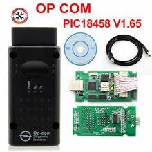 2019 profissional opcom v1.65 v1.70 v1.99 firmware a + qualidade OP-COM para opel diagnóstico-ferramenta op com real pic18f458 flash atualização