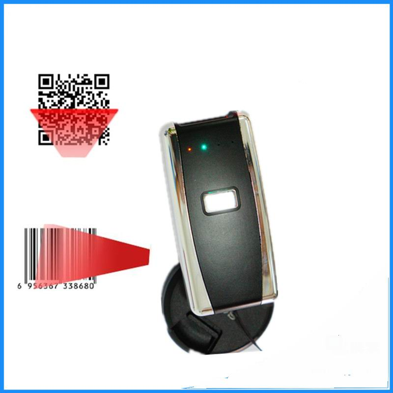 Free shipping Handheld Wireless 2D Barcode Scanner Portable Laser  Bar Code Reader for Android and ios iphone купить