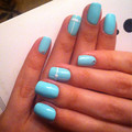YAOSHUN Sky Blue Color #76 Nail Gel Polish Hot Sale UV Soak Off Gel Varnish Long Lasting Led Gel Lacquer Nail Art Salon