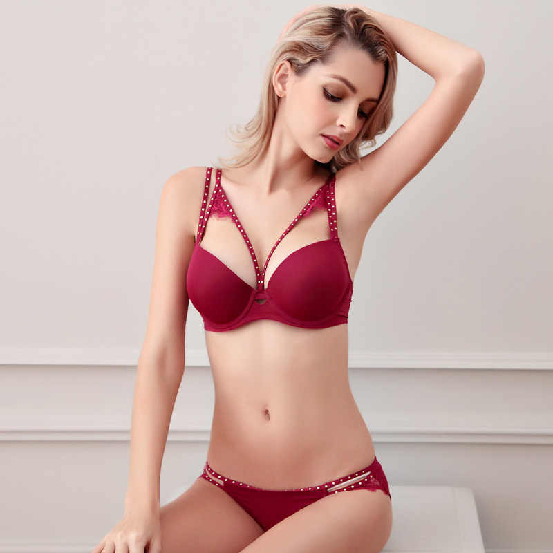 a4f53354de1 ... Hot beads seamless bra set noble sexy lingerie underwear sets for women  B C Cup ...
