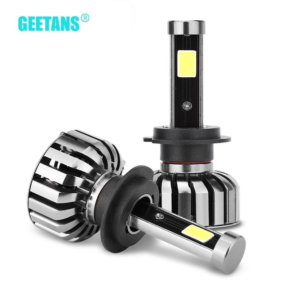 Autokoplampen H7 LED H4 H8 / H11 HB3 / 9005 HB4 / 9006 H1 80W 8000LM - Autolichten