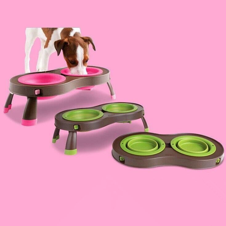 Aliexpress.com : Buy Dog bowl double food safe PET folding