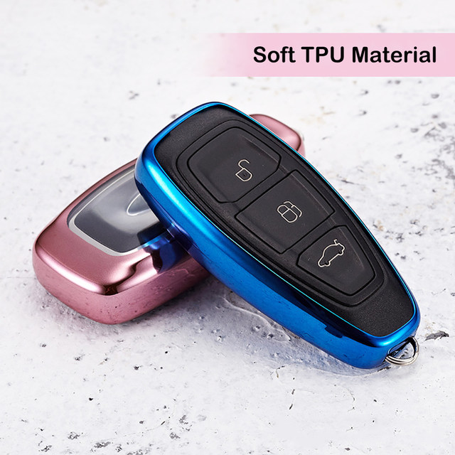 Online shop tpu car remote control key case skin shell auto tpu car remote control key case skin shell auto protective smart key cover for ford focus 3 ecosport kuga escape car accessories sciox Images