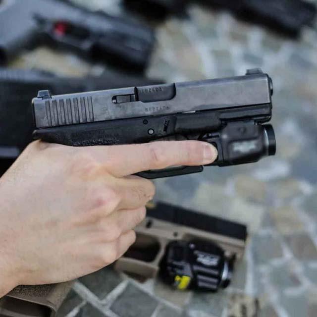 Tactical Compact Flashlight TLR Weapon Light Fits GLOCK 1 7 Hk USP CZ SIG SAUER SP2022