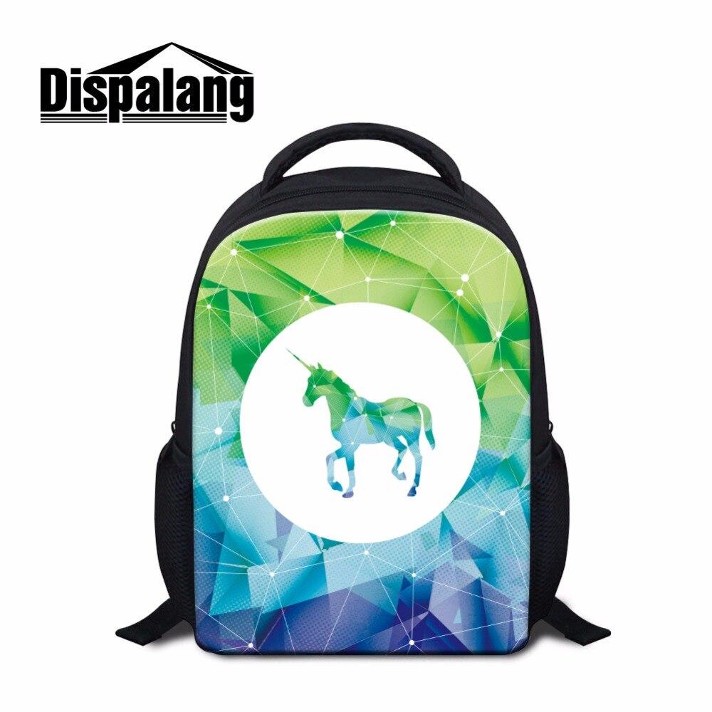 Dispalang симпатичный садик Bookbag мини Школьные ранцы для детей сумка дети маленький рюкзак в начальной единороги мини Back Pack