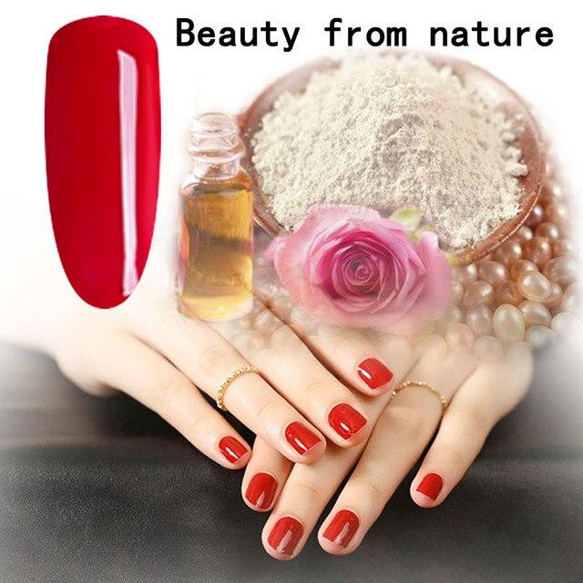 TREEINSIDEnatural чистый нетоксическо бренд-Роуз извлеченные ногтей гель для ногтей необходимо уф светодиодная лампа вылечить зеленый сейф здоровый дизайн бренда