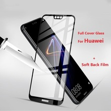 Full Cover Protective Glass For Huawei P20 Lite Pro P Smart Mate 10 Lite Pro P10 P9 P8 Lite 2017 Tempered Glass Screen Film Foil