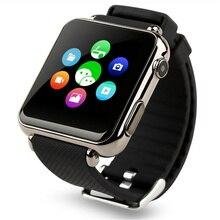 """2016ใหม่y6บลูทูธsmart watchนาฬิกาข้อมือซิมการ์ด1.54 """"แสดงS Mart W AtchสำหรับiOS A Ndroid RelógioรัสเซียPK DZ09 GV18 X6"""