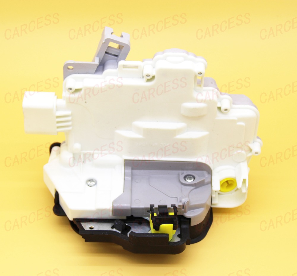 ФОТО OE 4F1837015A 8EI837015AA FRONT LEFT CENTRAL DOOR LOCK LATCH ACTUATOR MECHANISM FIT FOR AUDI A6 C6 WITH 9 PINS