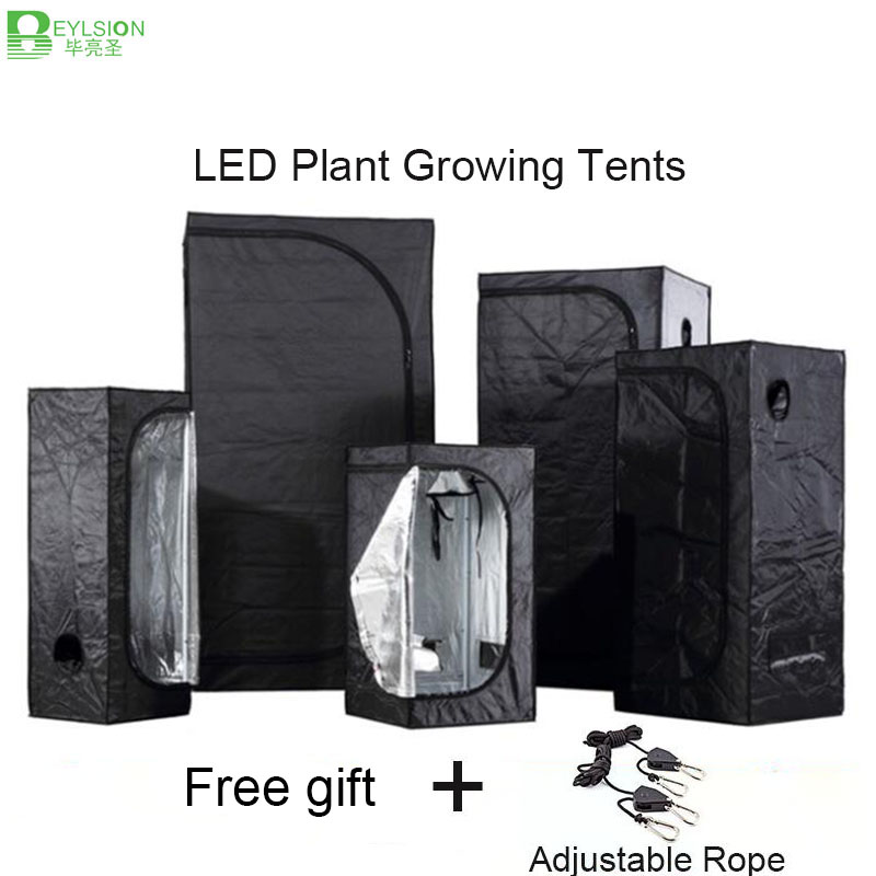 BEYLSION 50/60/80/100/120/150/200/240/300 Growing Tent for Indoor Hydroponics Room Greenhouse Plant Lighting Tents