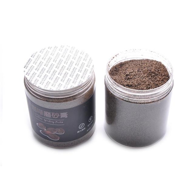 Natural Arabica Coffee Scrub Body Scrub Cream Dead Salt Coconut Oil Body Scrub Exfoliating Whitening Moisture Reduce Cellulite