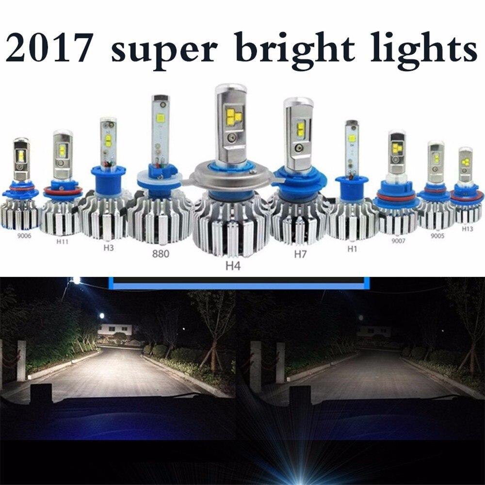 Car Led Headlight H13 H7 H4 Led Hb3/9005 Hb4/9006 H8/h11 H1 H3 9012 6000k Auto Head Light Bulb Car Lights Car Headlight Bulbs(led)