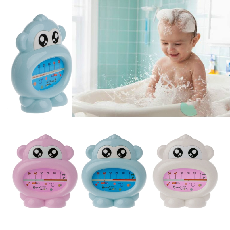 Newest Water Thermometer Baby Bathing Monkey Shape Temperature Infants Toddler Shower MAY31-A