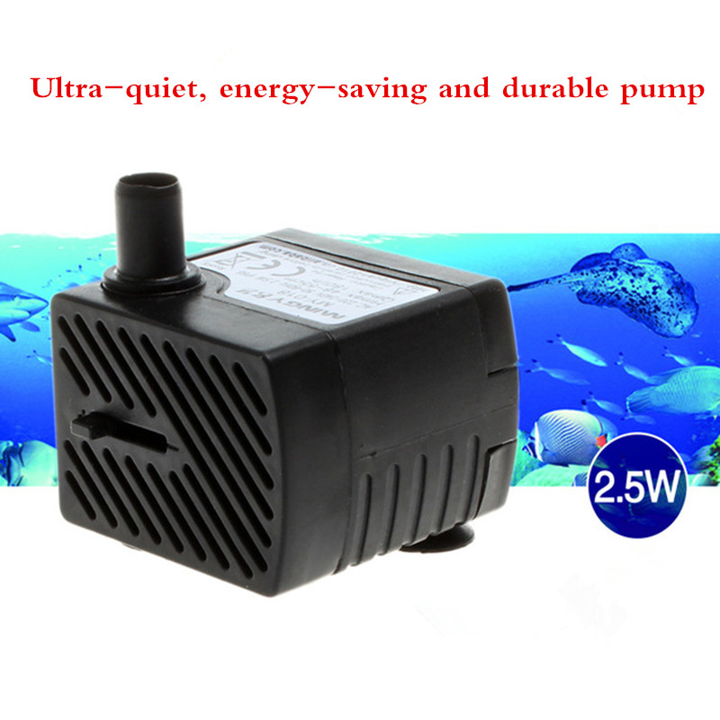 MY-018 Mini Submersible Pump Water Pump Safety Static Process 2.5W Lift 0.55M