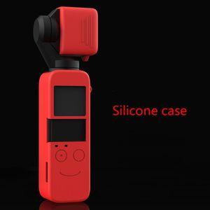 Image 5 - Funda protectora de silicona suave para lente carcasa de piel para DJI Osmo Pocket cardán, Kit de accesorios para cámara, 1 Juego